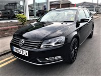 2013 VOLKSWAGEN PASSAT 2.0 HIGHLINE TDI BLUEMOTION TECHNOLOGY 5d 139 BHP £8995.00