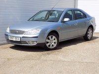 2007 FORD MONDEO 1.8 ZETEC 16V 5d 124 BHP £980.00