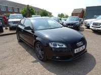 2010 AUDI A3 2.0 TFSI S LINE SPECIAL EDITION 3d 197 BHP £9990.00