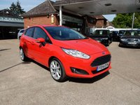 USED 2014 14 FORD FIESTA 1.5 TDCI TITANIUM 5 DOOR HATCHBACK  FULL HISTORY,TWO KEYS,CLIMATE,PARKING AID,BLUETOOTH