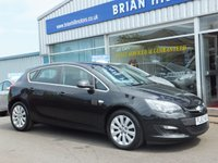USED 2013 63 VAUXHALL ASTRA 1.7 CDTi TECH LINE  ECOFLEX NAVIGATION 5dr