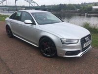 USED 2012 12 AUDI A4 2.0 TDI S LINE BLACK EDITION 4d 141 BHP **STUNNING AUDI A4 S LINE**