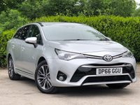 USED 2017 66 TOYOTA AVENSIS 1.6 D-4D BUSINESS EDITION PLUS 5d 110 BHP