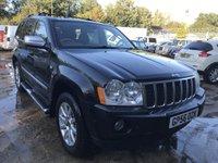 2006 JEEP GRAND CHEROKEE 3.0 V6 CRD OVERLAND 5d AUTO 215 BHP £3695.00