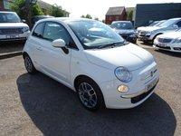 2012 FIAT 500 0.9 LOUNGE 3d 85 BHP £4990.00