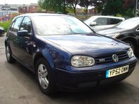 USED 2002 52 VOLKSWAGEN GOLF 2.0 GTI 5d 114BHP 2KEYS+MOT FEB 2019+HISTORY+CD+