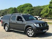2007 NISSAN NAVARA 2.5 AVENTURA DCI 4X4SHR SWB D/C 1d AUTO 169 BHP £7500.00