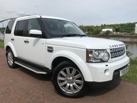 2011 LAND ROVER DISCOVERY 3.0 4 SDV6 HSE 5d AUTO 255 BHP £18990.00