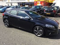 USED 2014 14 VOLVO V40 2.0 D3 R-DESIGN NAV 5d 148 BHP OUR  PRICE INCLUDES A 6 MONTH AA WARRANTY DEALER CARE EXTENDED GUARANTEE, 1 YEARS MOT AND A OIL & FILTERS SERVICE. 6 MONTHS FREE BREAKDOWN COVER.   CALL US NOW FOR MORE INFORMATION OR TO BOOK A TEST DRIVE ON 01315387070 !! !! LIKE AND SHARE OUR FACEBOOK PAGE !!