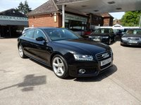 USED 2012 12 AUDI A5 2.0 SPORTBACK TDI S LINE 5d 168 BHP LEATHER HEATED SEATS,XENONS,TWO KEYS,BLUETOOTH,FSH
