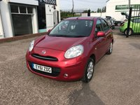 USED 2011 61 NISSAN MICRA 1.2 ACENTA 5d 79 BHP FULL SERVICE HISTORY(6 STAMPS)-£30 ROAD TAX-BLUETOOTH-1 FORMER KEEPER-CLIMATE CON-CRUISE CON