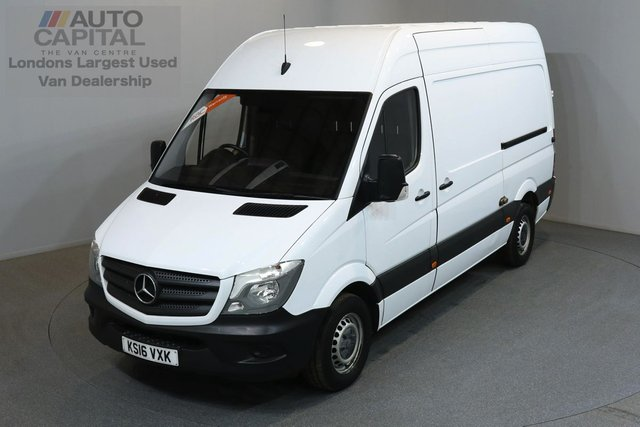 2016 16 MERCEDES-BENZ SPRINTER 2.1 313 CDI 129 BHP MWB HIGH ROOF MEDIUM WHEELBASE, MOT UNTIL 12/05/2019