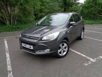 USED 2015 15 FORD KUGA 2.0 ZETEC TDCI 5d 148 BHP LOW MILEAGE