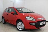 USED 2010 10 FIAT PUNTO EVO 1.4 ACTIVE 3DR 77 BHP SERVICE HISTORY + BLUETOOTH + MULTI FUNCTION WHEEL + RADIO/CD + AIR CONDITIONING + ELECTRIC WINDOWS