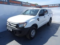 USED 2012 12 FORD RANGER 2.2 XL 4X4 DCB TDCI 1d 148 BHP 4x4 pick up with electronic switchable 4x4