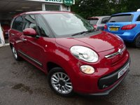 USED 2014 14 FIAT 500L MPW 1.2 MULTIJET LOUNGE 5d 85 BHP 7 SEATER Comprehensive Service History + Just Serviced by ourselves, MOT until June 2019, One Previous Owner, 7 Seater, Diesel, Excellent on fuel economy! Only £20 Road Tax!