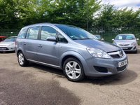2009 VAUXHALL ZAFIRA 1.9 CDTI EXCLUSIV I 5d AUTOMATIC WITH LOW MILEAGE WITH SERVICE HISTORY  £4500.00
