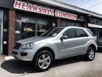 USED 2008 08 MERCEDES-BENZ M CLASS 3.0 ML280 CDI SE 5d AUTO 188 BHP