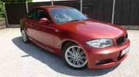 """USED 2008 08 BMW 1 SERIES 2.0 120D M SPORT 2dr Half Leather, PDC, 17"""" Alloys"""
