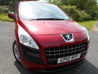 USED 2012 12 PEUGEOT 3008 1.6 ACCESS HDI FAP 5d 112 BHP ** 1 OWNER FROM NEW **