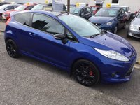 USED 2010 60 FORD FIESTA 1.6 S1600 3d 118 BHP PRICE INCLUDES A 6 MONTH AA WARRANTY DEALER CARE EXTENDED GUARANTEE, 1 YEARS MOT AND A OIL & FILTERS SERVICE. 12 MONTHS FREE BREAKDOWN COVER.