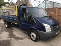 USED 2011 11 FORD TRANSIT 2.4 350 DRW 1d 115 BHP DROPSIDE TRUCK