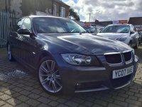 USED 2007 07 BMW 3 SERIES 2.0 318I M SPORT 4d AUTO 128 BHP OUR  PRICE INCLUDES A 6 MONTH AA WARRANTY DEALER CARE EXTENDED GUARANTEE, 1 YEARS MOT AND A OIL & FILTERS SERVICE. 6 MONTHS FREE BREAKDOWN COVER.   CALL US NOW FOR MORE INFORMATION OR TO BOOK A TEST DRIVE ON 01315387070 !!