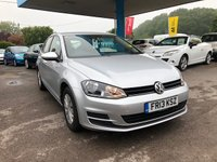 2013 VOLKSWAGEN GOLF 1.6 S TDI BLUEMOTION TECHNOLOGY 5d 103 BHP £8999.00