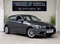 2014 BMW 1 SERIES 1.6 116D EFFICIENTDYNAMICS 5d 114 BHP £9480.00