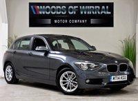 2014 BMW 1 SERIES 1.6 116D EFFICIENTDYNAMICS 5d 114 BHP £9380.00
