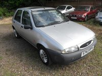 1998 FORD FIESTA 1.3 FINESSE PART EXCHANGE TO CLEAR. MOT UNTIL 11/09/2018 £SOLD