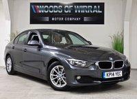 2014 BMW 3 SERIES 2.0 320D EFFICIENTDYNAMICS BUSINESS 4d AUTO 161 BHP £11380.00