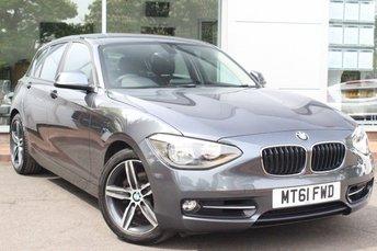 2011 BMW 1 SERIES 1.6 118I SPORT 5d 168 BHP £9000.00