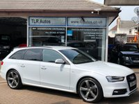 USED 2014 64 AUDI A4 AVANT 2.0TDi QUATTRO S LINE BLACK EDITION 2d 168 BHP Free MOT for Life