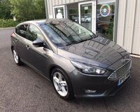 USED 2016 65 FORD FOCUS 1.0 ZETEC NAVIGATOR ECOBOOST 100 BHP THIS VEHICLE IS AT SITE 1 - TO VIEW CALL US ON 01903 892224