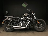 2015 HARLEY-DAVIDSON XL 1200 X FORTY EIGHT 16 ABS. 1246 MILES. 1 OWNER. STAGE 1. NICE EXTRAS. FSH £8995.00