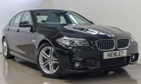 2015 BMW 5 SERIES 2.0 520D M SPORT 4d AUTO 188 BHP £15990.00