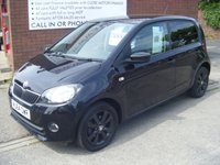 USED 2014 64 SKODA CITIGO 1.0 BLACK EDITION 5d 59 BHP **ZERO DEPOSIT FINANCE AVAILABLE** PART EXCHANGE WELCOME