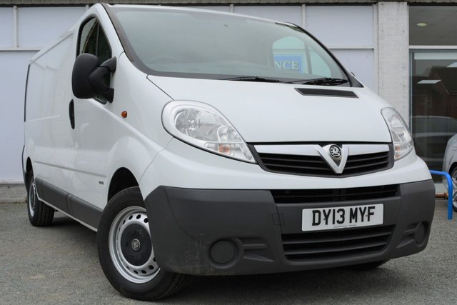 2013 13 VAUXHALL VIVARO 2.0 2900 CDTI Great Value Van with NO VAT TO PAY