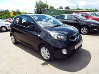 USED 2012 61 KIA PICANTO 1.0 1 3d 68 BHP ONE OWNER FORM NEW / FULL DEALER SERVICE HISTORY