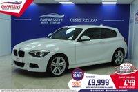 2012 BMW 1 SERIES 2.0 116D M SPORT 3d 114 BHP £9999.00