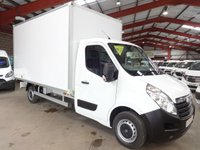 2014 VAUXHALL MOVANO 2.3 F3500 L3H1 CDTI BOX VAN 125 BHP-ONE PRIVATE OWNER-SERVICE HISTORY £12995.00