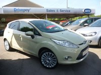 USED 2009 09 FORD FIESTA 1.4 TITANIUM 5d 96 BHP NEED FINANCE? WE CAN HELP!