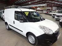 2012 VAUXHALL COMBO VAN 1.6 2000 L1H1 CDTI 105 BHP-ONE OWNER WITH AIR CON £4795.00