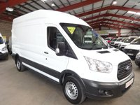 2014 FORD TRANSIT 2.2 350  LWB  H/R P/V 124 BHP-ONE OWNER WITH SERVICE HISTORY £9250.00