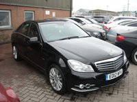 2012 MERCEDES-BENZ C CLASS 2.1 C220 CDI BLUEEFFICIENCY ELEGANCE 4d AUTO 168 BHP £10980.00
