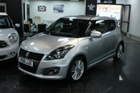 2012 SUZUKI SWIFT 1.6 SPORT 3d 134 BHP £6499.00