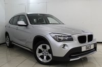 USED 2012 12 BMW X1 2.0 XDRIVE20D SE 5DR AUTOMATIC 174 BHP CRUISE CONTROL + PARKING SENSOR + MULTI FUNCTION WHEEL + HEATED SEATS + CLIMATE CONTROL + AUXILIARY PORT + 17 INCH ALLOY WHEELS