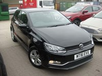 USED 2016 16 VOLKSWAGEN POLO 1.2 MATCH TSI DSG 5d AUTO 89 BHP ANY PART EXCHANGE WELCOME, COUNTRY WIDE DELIVERY ARRANGED, HUGE SPEC