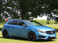 2013 MERCEDES-BENZ A CLASS 2.0 A45 AMG 4MATIC 5d AUTO 360 BHP £22000.00